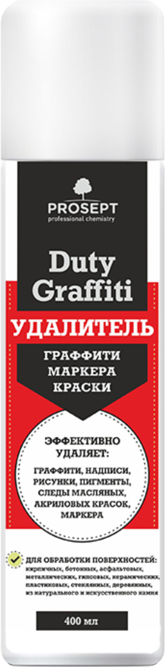 Duty Graffiti. Средство для удаления граффити